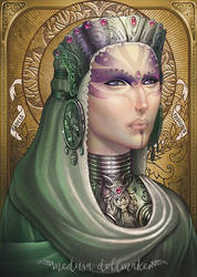 Cosmic Lady by Medusa-Dollmaker