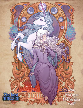 Lady Amalthea - The Last Unicorn