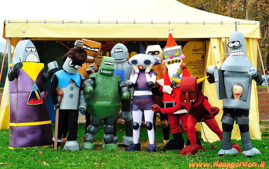 Futurama Robots Reunited by shafry