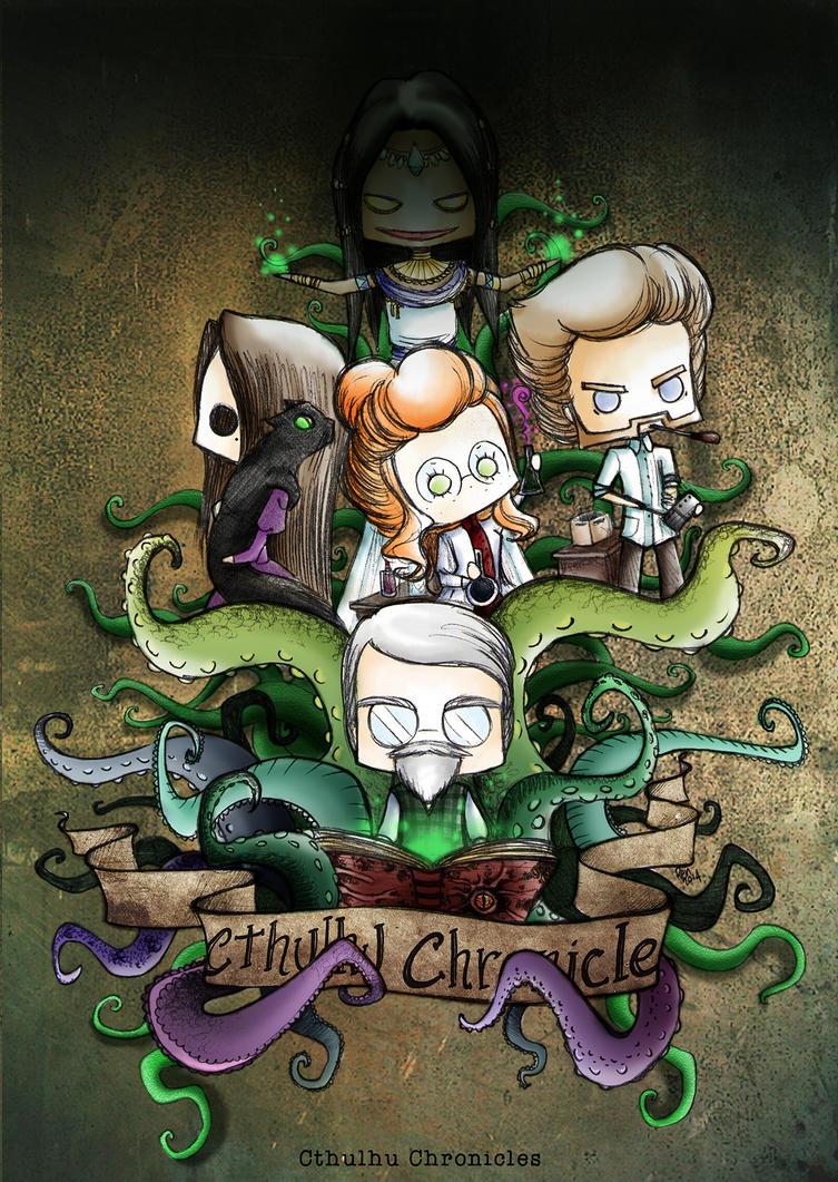 Cthulhu Chronicles Illustration by shafry