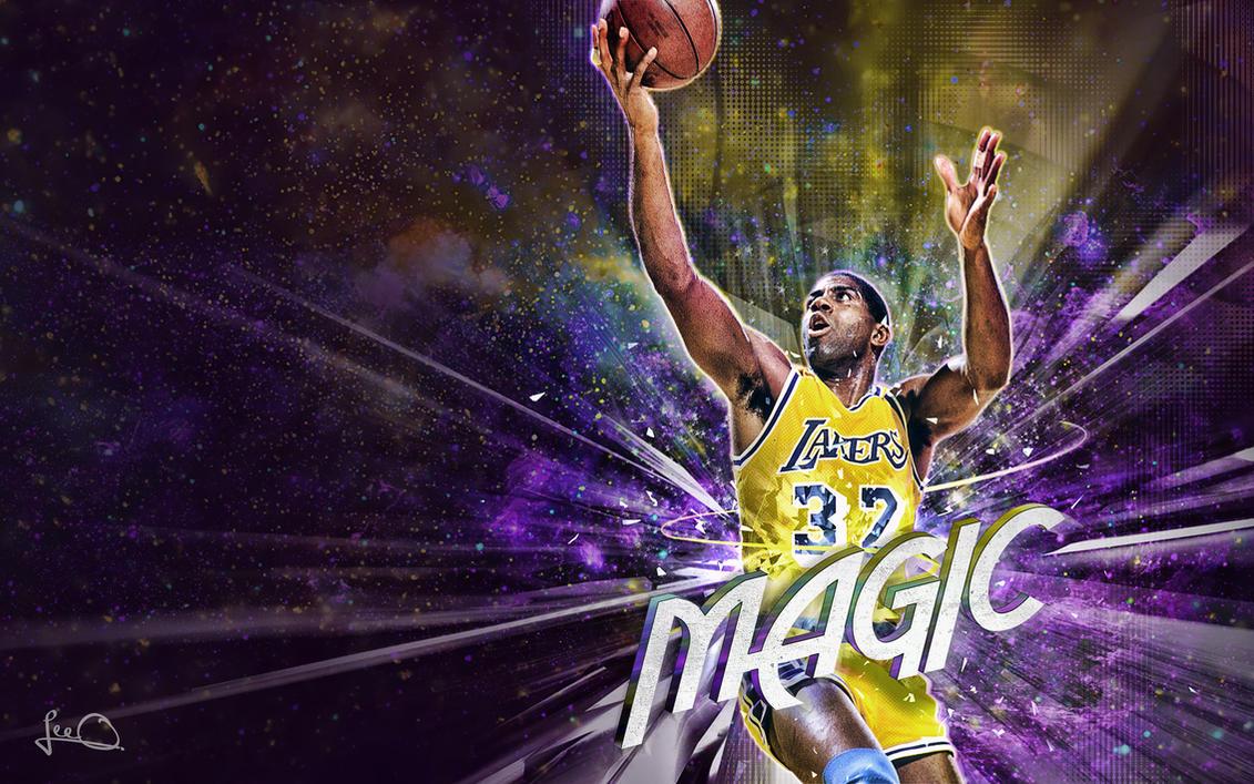 Magic Johnson vs Michael Jordan Wallpaper by lisong24kobe on ...