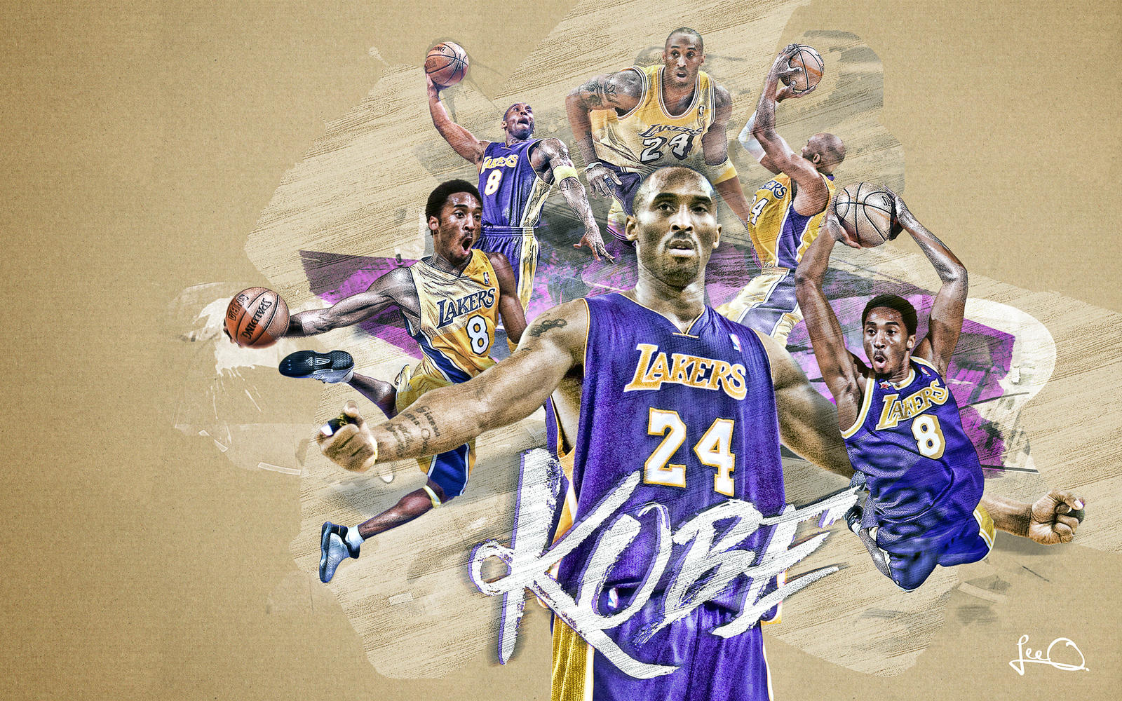 Kobe Bryant Wallpaper by skythlee on DeviantArt