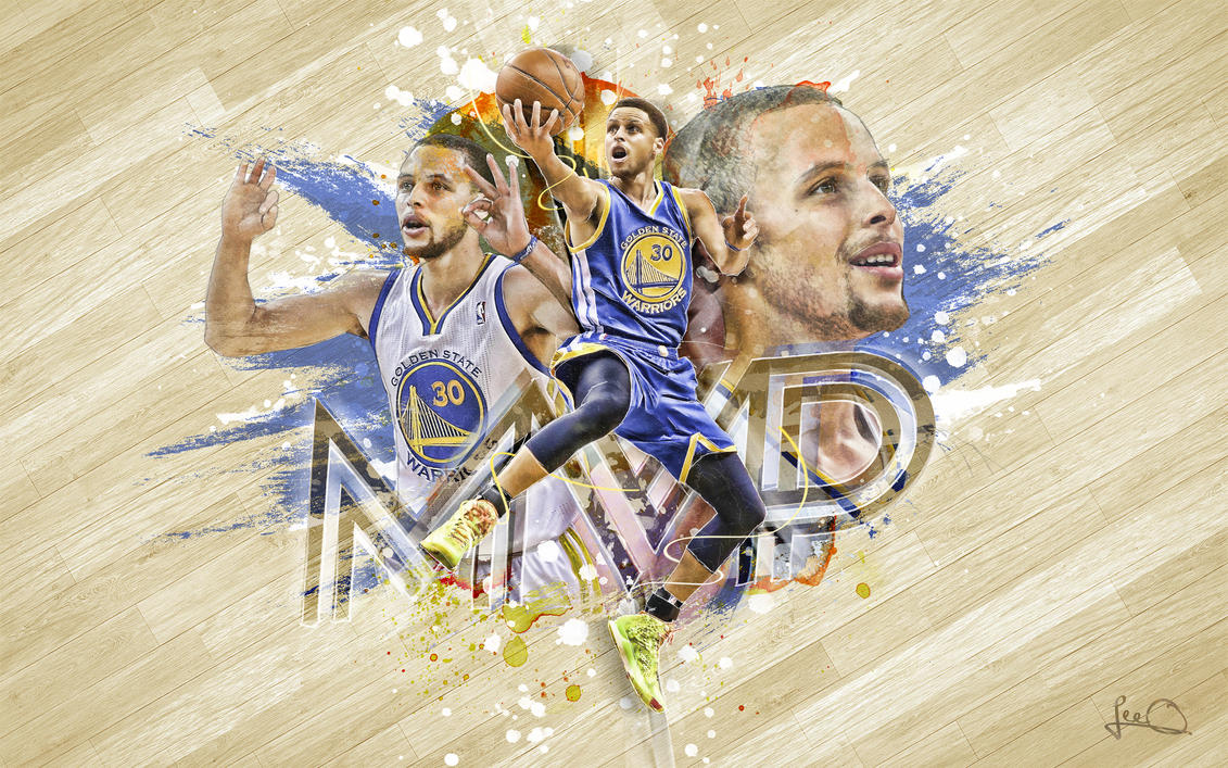 Steph Curry MVP Wallpaper 2.0 by skythlee