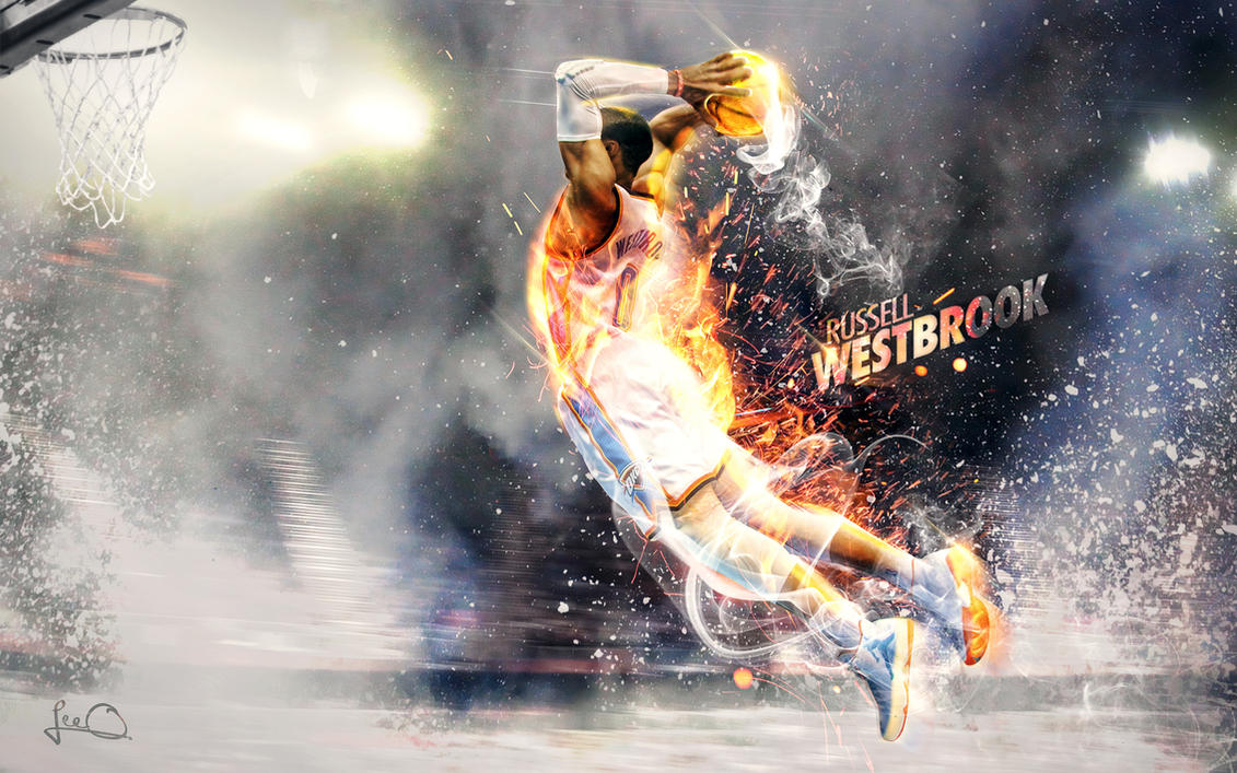 Russell Westbrook Wallpaper 2.0 by skythlee on DeviantArt