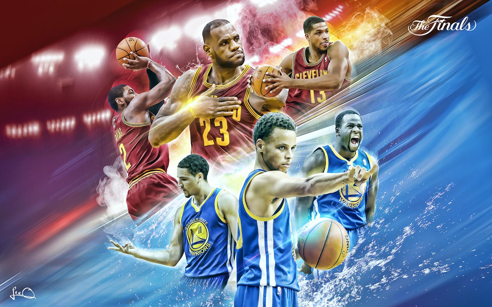 NBA Finals 2015 Wallpaper by skythlee on DeviantArt