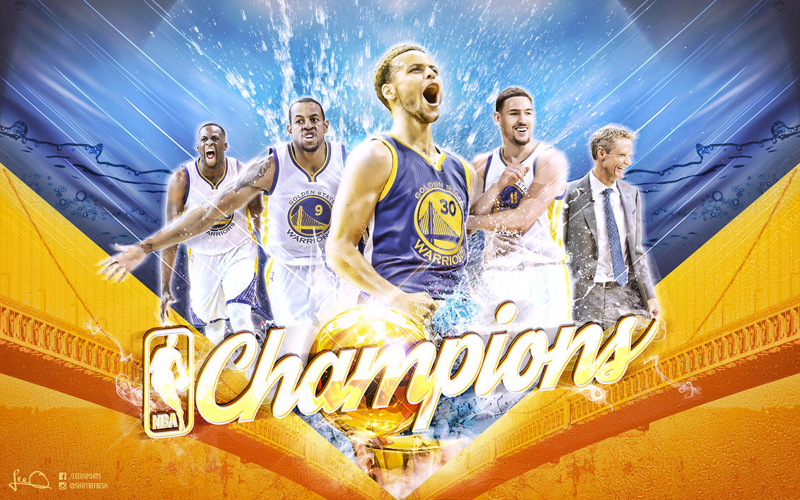 Golden State Warriors NBA Champions Wallpaper by skythlee ...