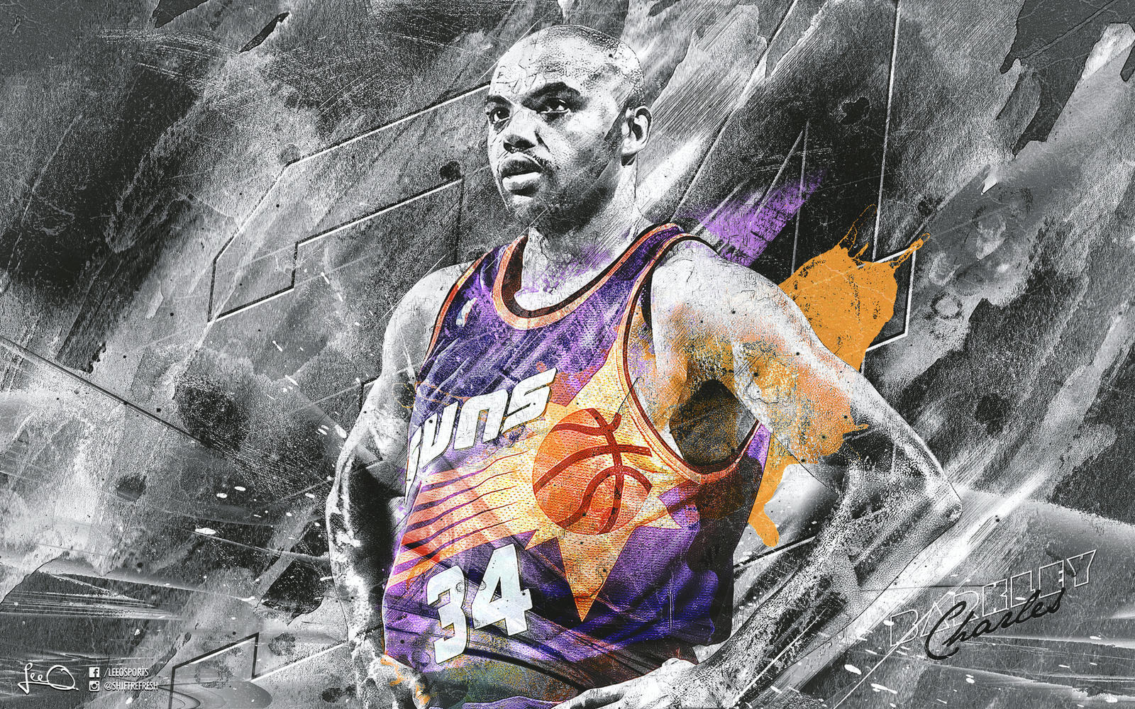 charles barkley wallpaper by skythlee on deviantart