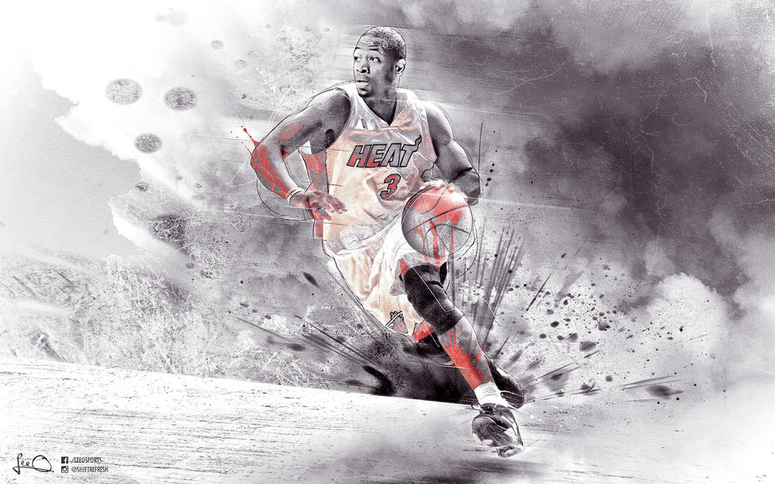Dwyane Wade Wallpaper by skythlee