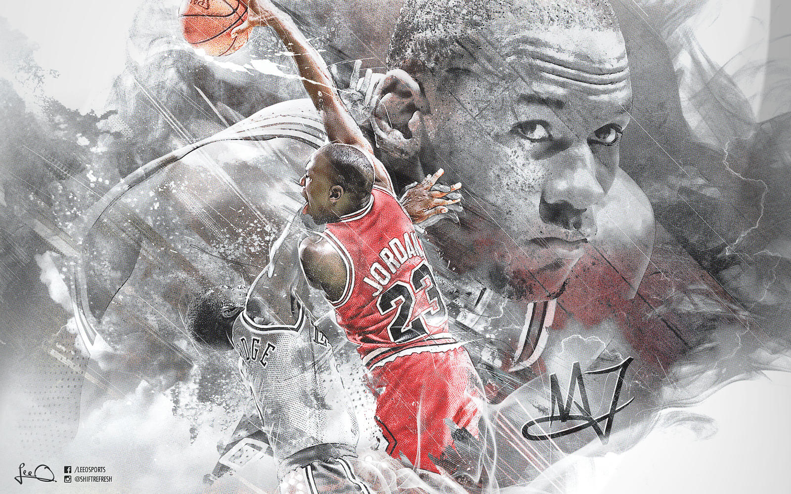 Michael Jordan 50th Wallpaper: Michael Jordan Wallpaper By Skythlee On DeviantArt