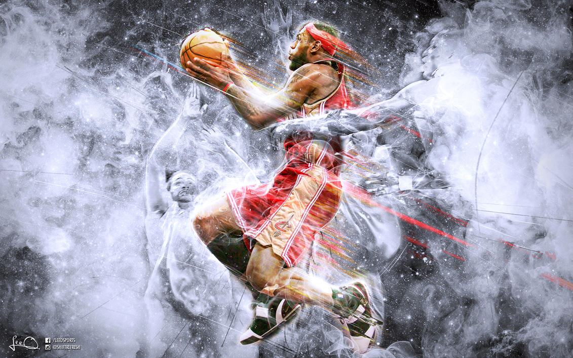 Lebron James Wallpaper by skythlee