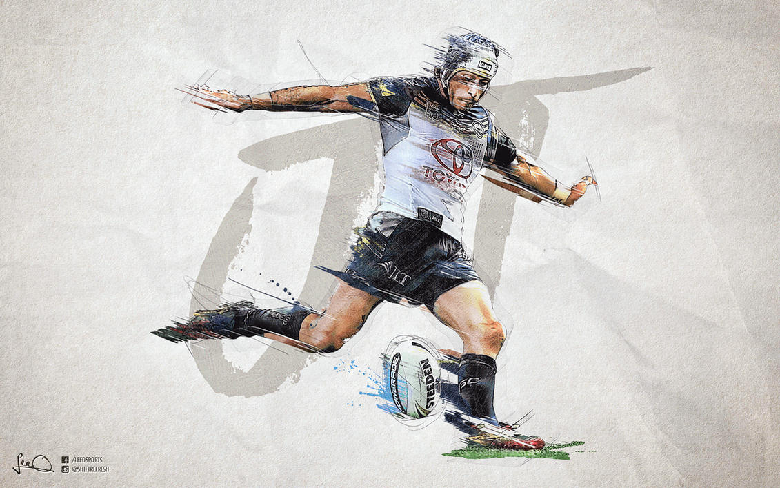 Johnathan Thurston NRL Finals Wallpaper by skythlee