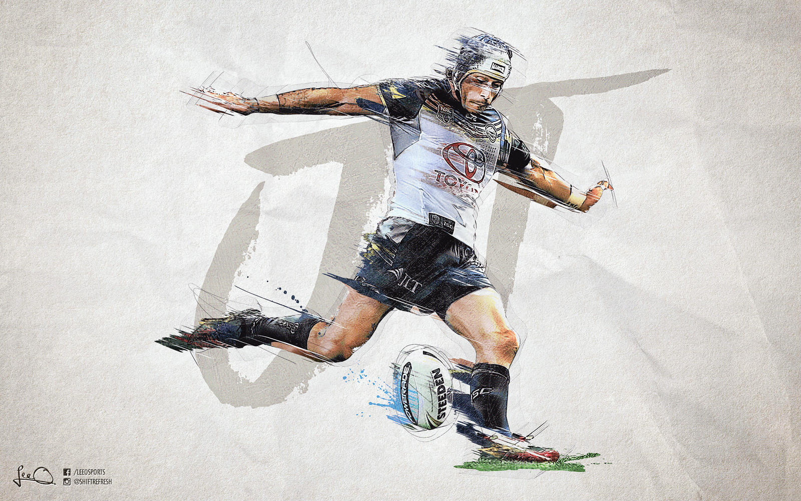 ... Nq Cowboys Iphone Wallpaper by Johnathan Thurston Nrl Finals Wallpaper By Skythlee On ...