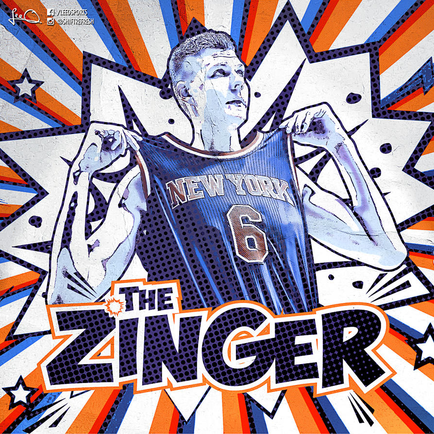 Kristaps Porzingis - 'The Zinger' by skythlee