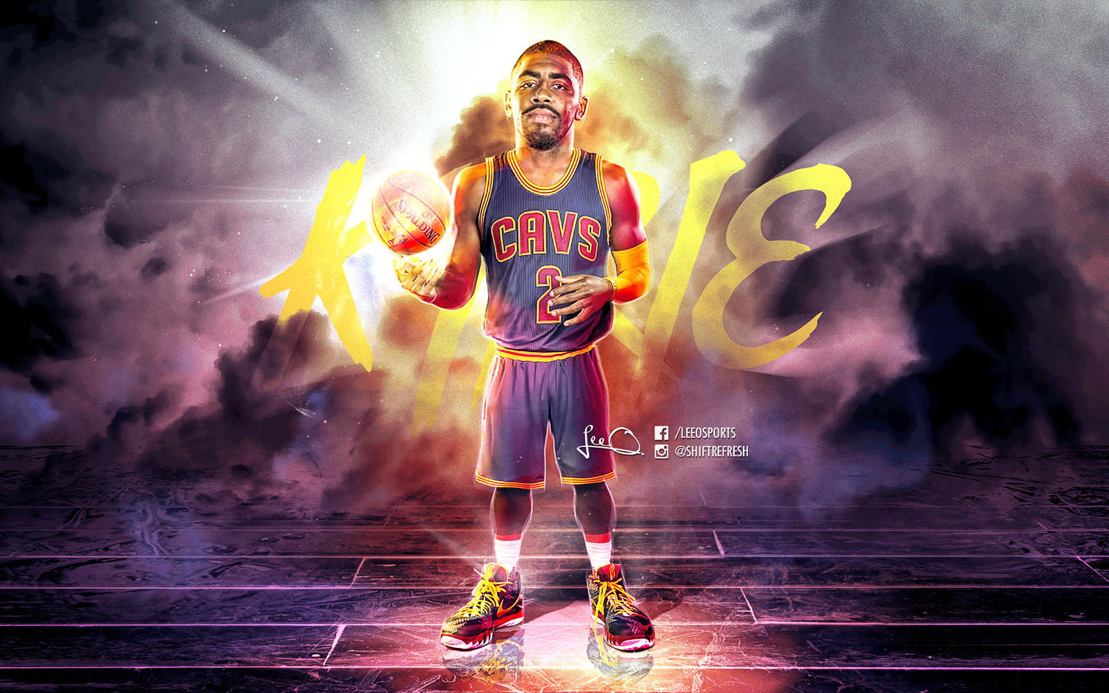 kyrie irving nba wallpaper by skythlee on deviantart