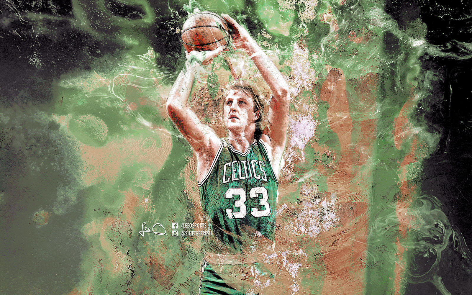larry bird wallpaper