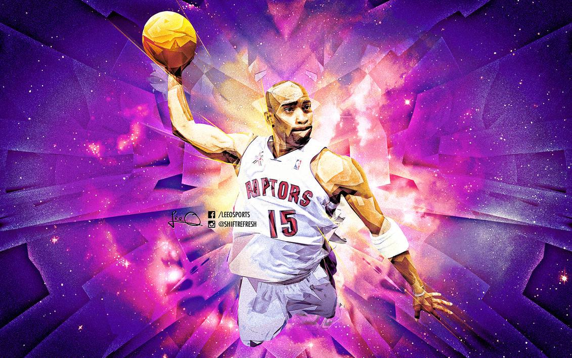 Vince Carter NBA Wallpaper by skythlee