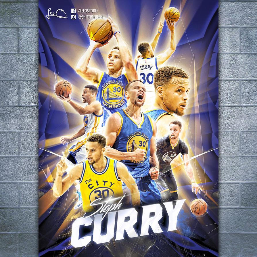 Steph Curry Poster Design by skythlee on DeviantArt