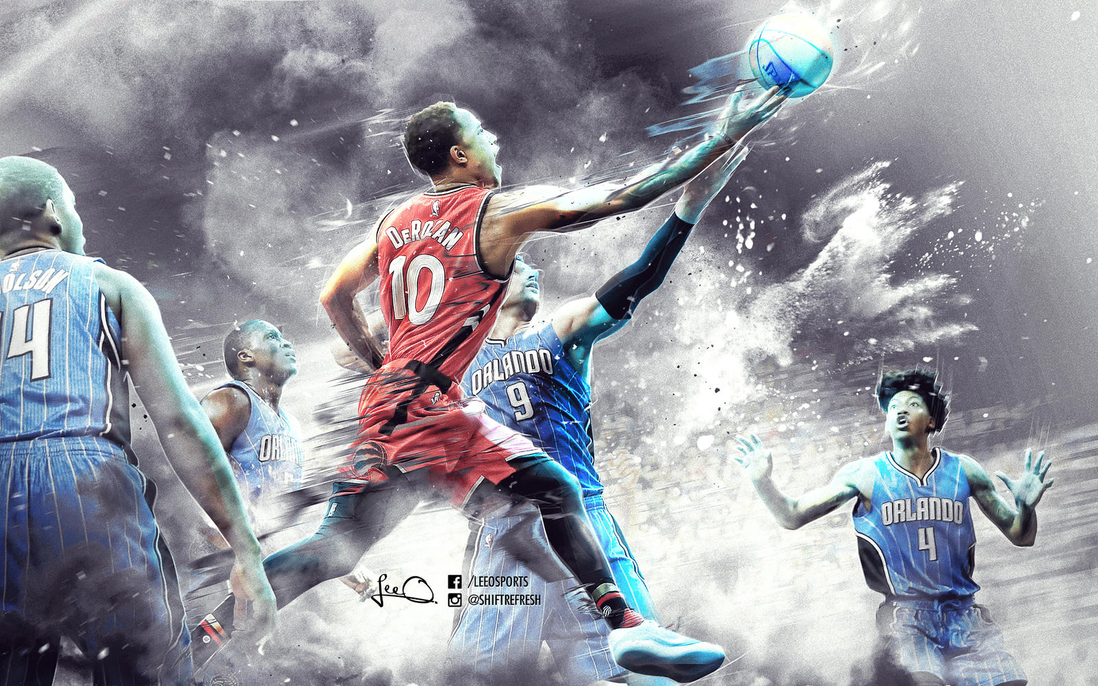 Nba backgrounds 2013