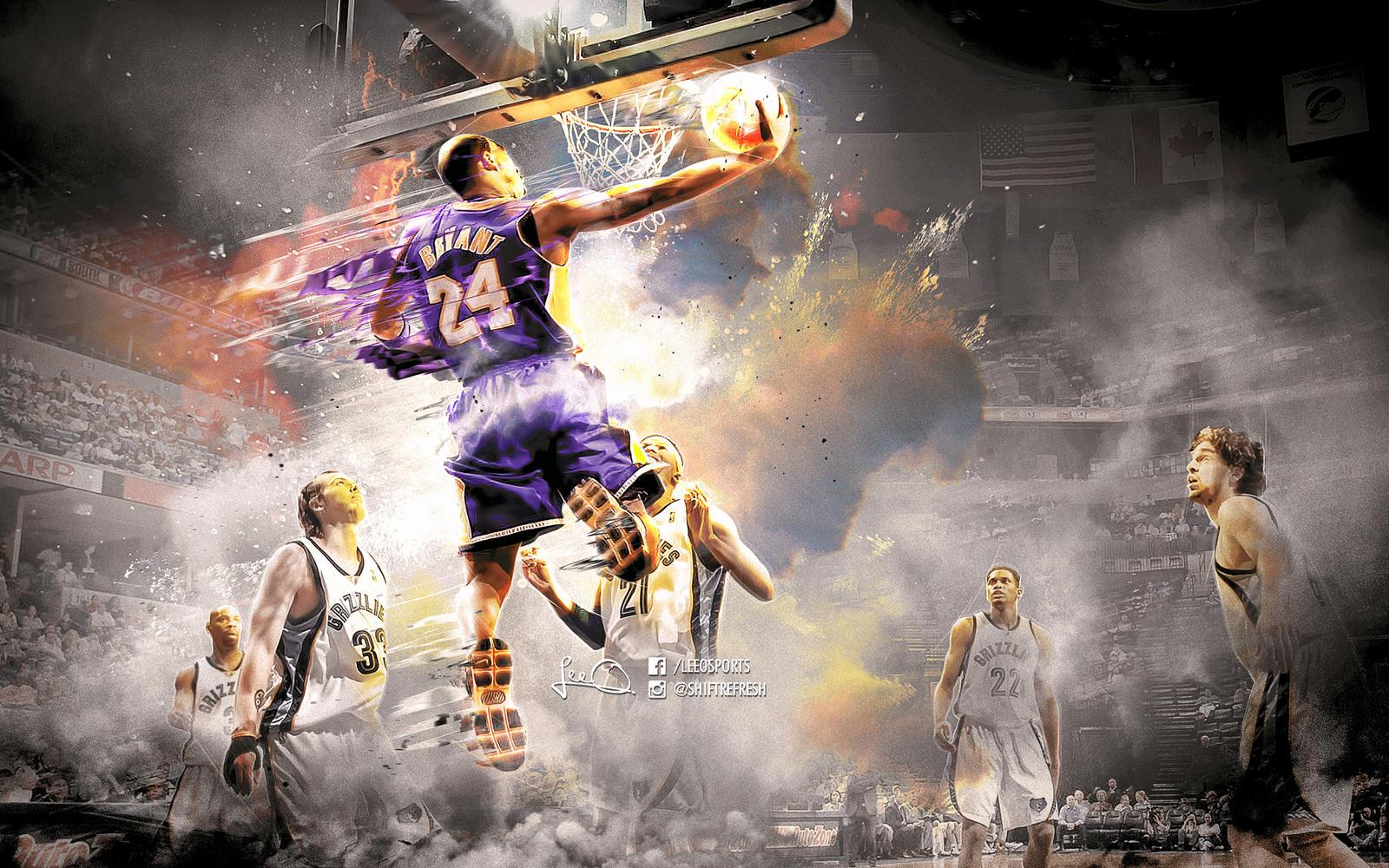 Kobe Bryant NBA Wallpaper 4.0 by skythlee on DeviantArt