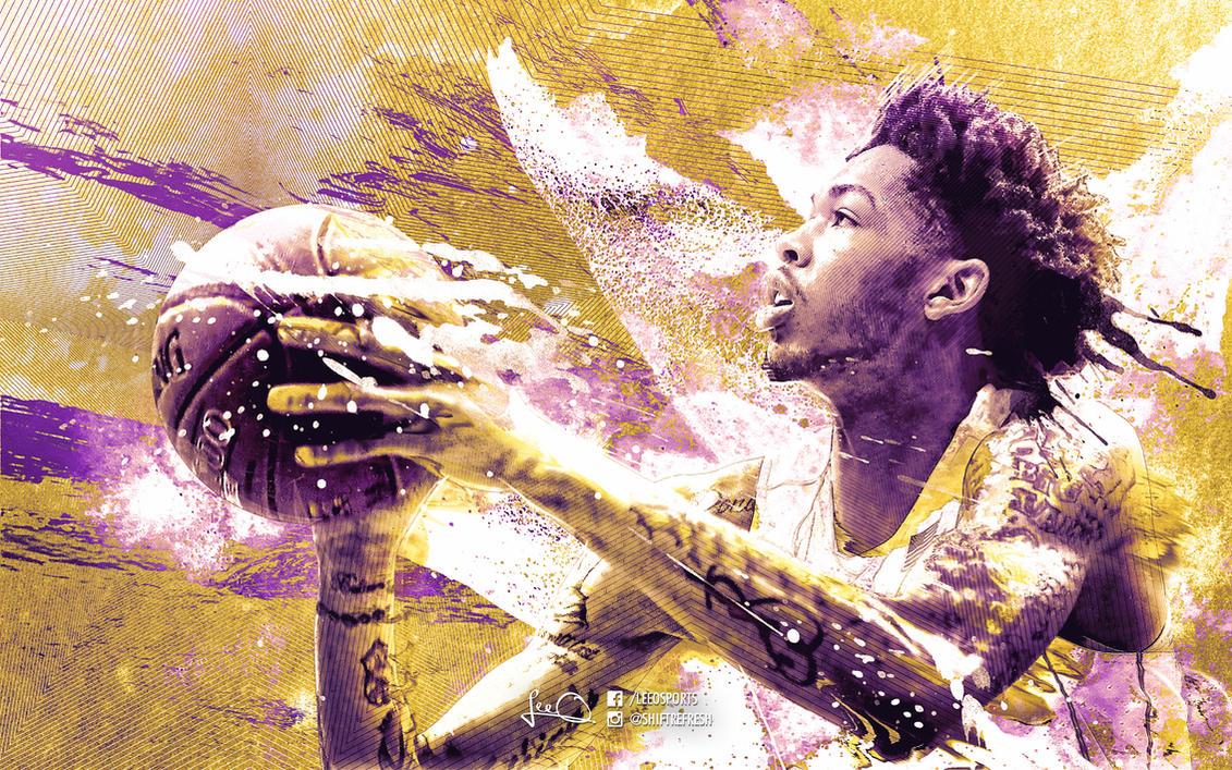 Brandon Ingram Lakers Wallpaper by skythlee on DeviantArt