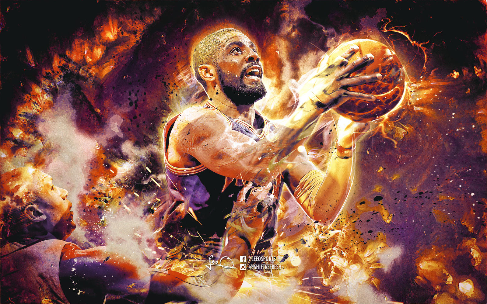 Kyrie irving nba wallpaper 2 0 by skythlee on deviantart - 2 0 wallpaper ...