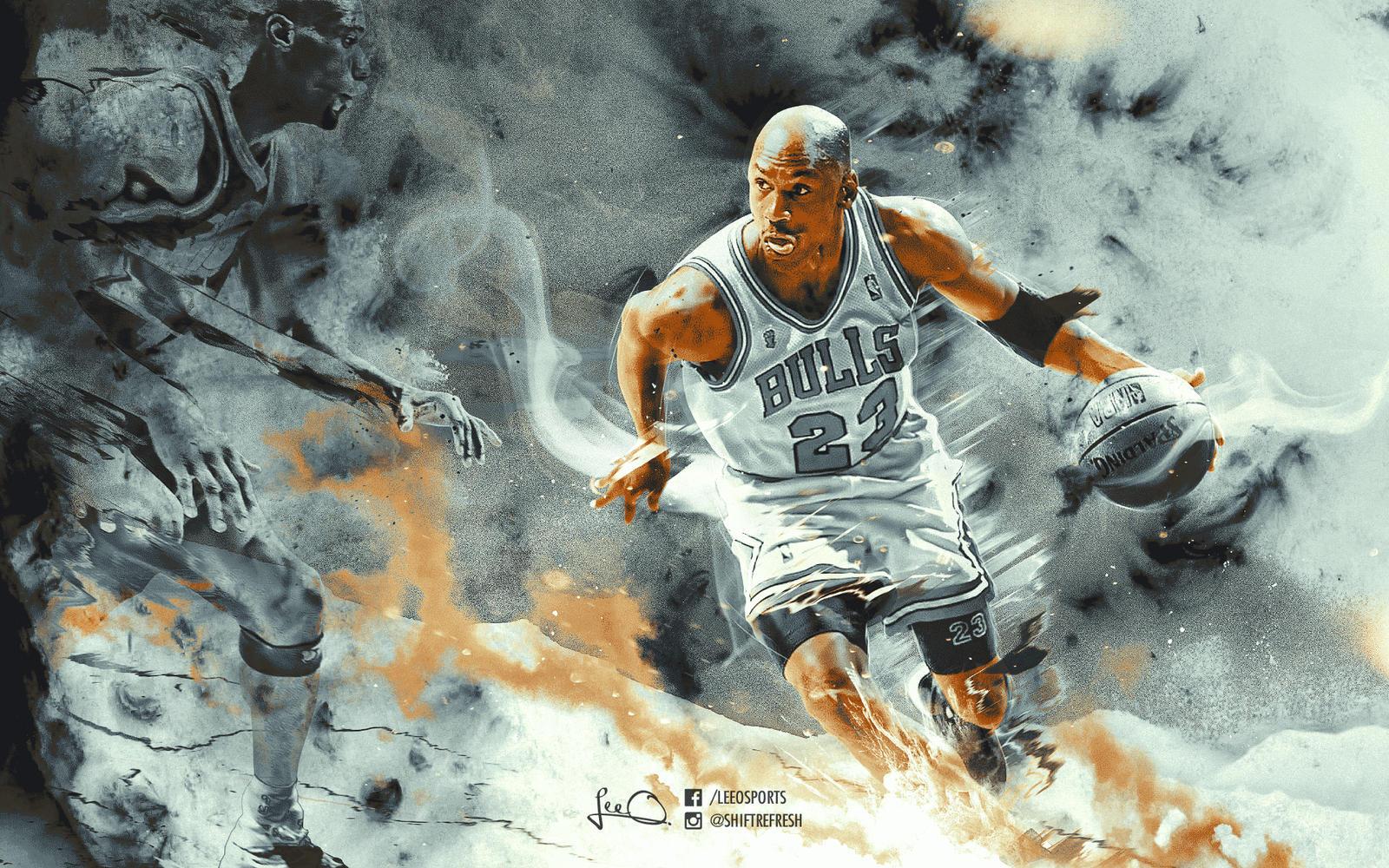 Michael Jordan Abstract Wallpaper By Skythlee On DeviantArt