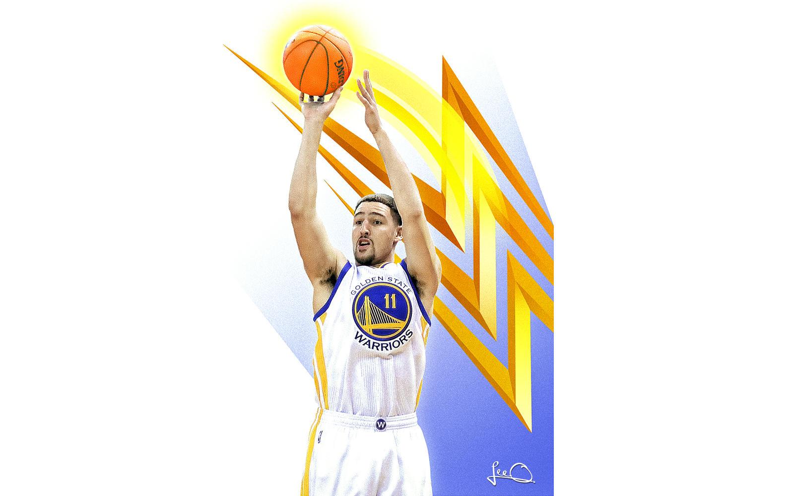 Klay Thompson Skybox NBA Wallpaper by skythlee on DeviantArt