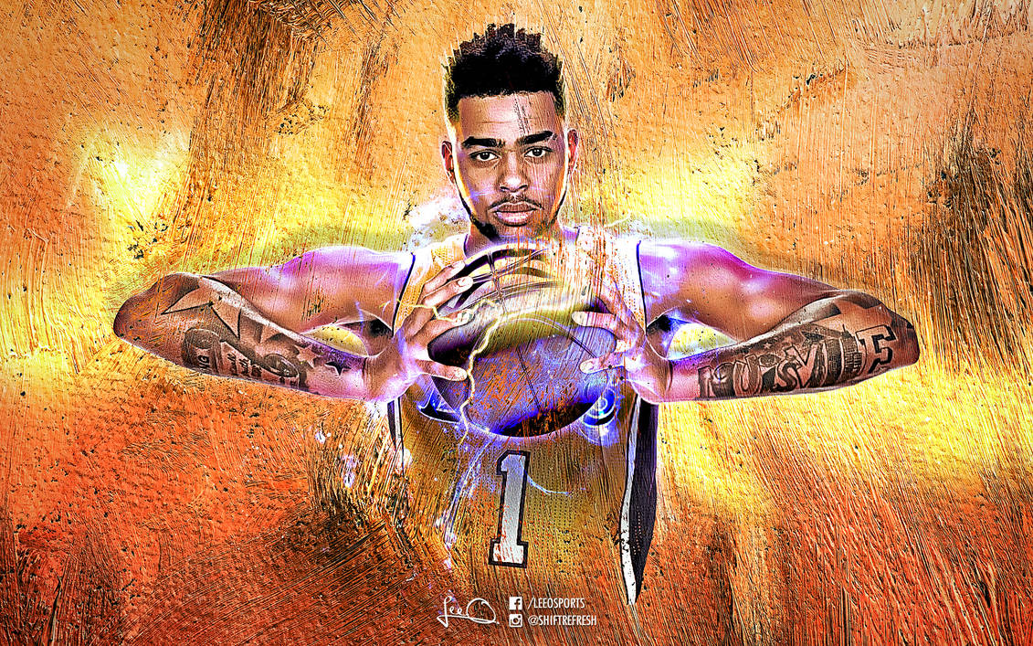 D Angelo Russell Nba Wallpaper 3 0 By Skythlee On Deviantart