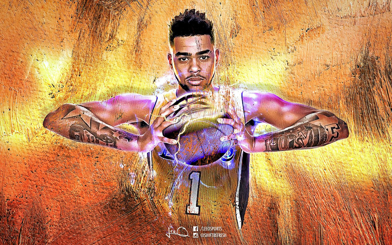 DAngelo Russell NBA Wallpaper 30 by skythlee on DeviantArt