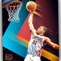 Blake Griffin NBA Skybox inspired design by skythlee