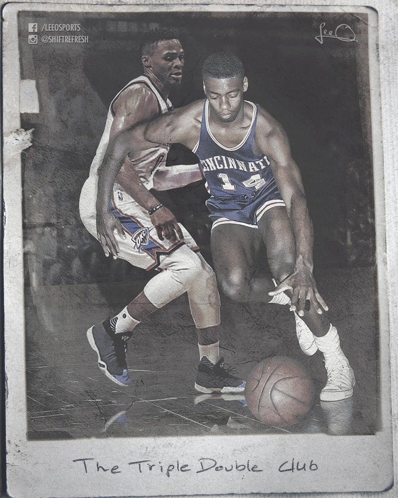 Russell Westbrook vs Oscar Robertson by skythlee on DeviantArt
