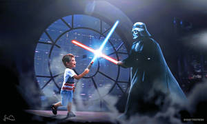 My Son vs Darth Vader