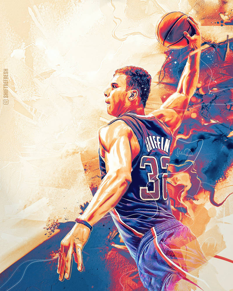 Blake Griffin NBA Wallpaper / Poster by skythlee ...