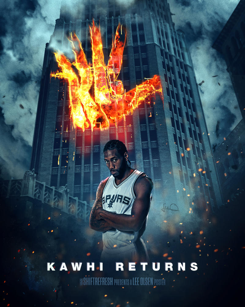 Knight Basketball Player Wallpaper: Kawhi Leonard / Dark Knight Poster Mashup By Skythlee On