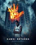Kawhi Leonard / Dark Knight Poster Mashup