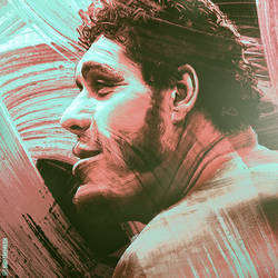 Andre The Giant Artwork by skythlee