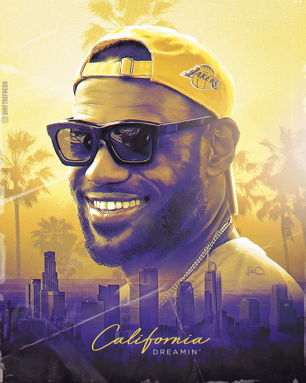 Lebron James Lakers Nba Wallpaper Poster By Skythlee On Deviantart