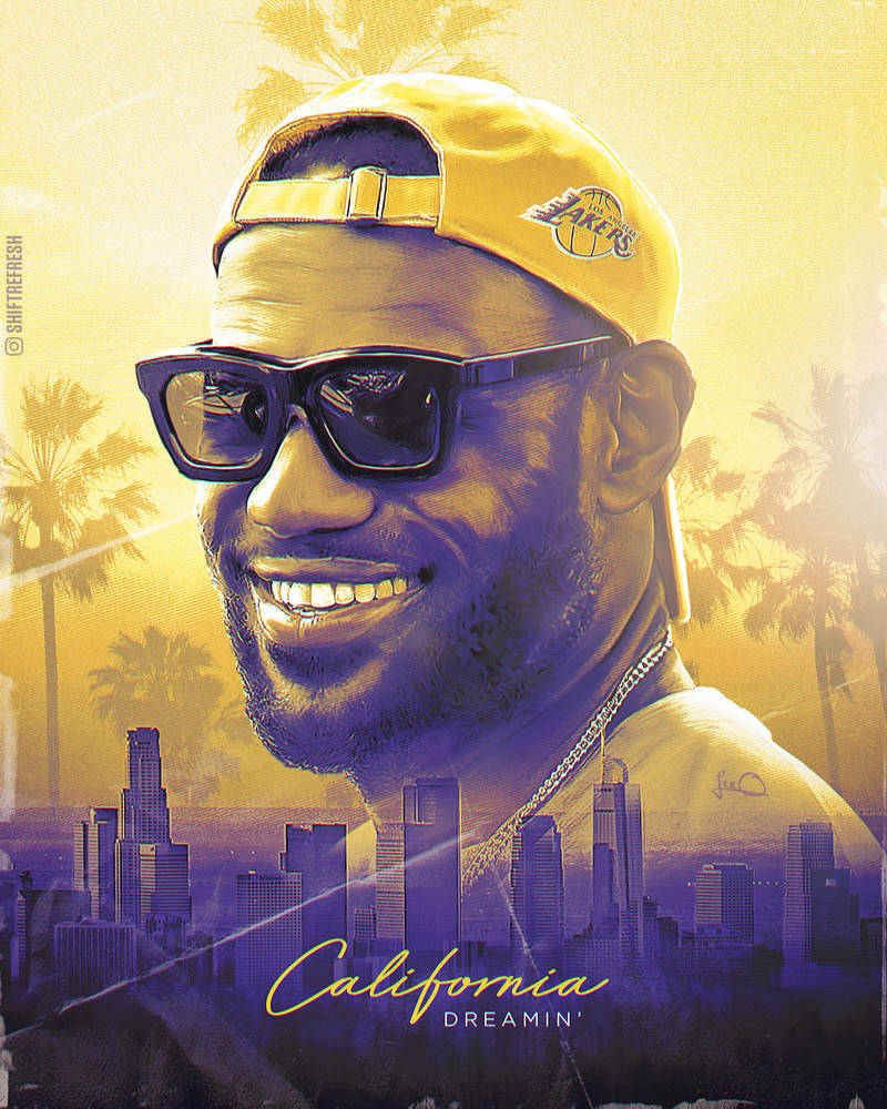 Lebron James Lakers NBA Wallpaper / Poster by skythlee ...