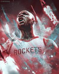 PJ Tucker Rockets Wallpaper by skythlee