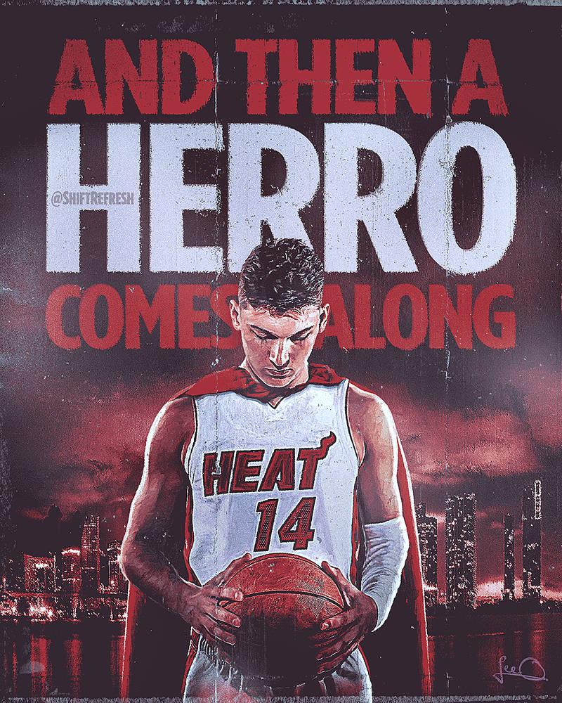Tyler Hero NBA Wallpaper by skythlee on DeviantArt