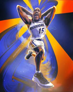 Latrell Sprewell NBA Wallpaper Art