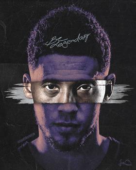 Be Legendary -Devin Booker x Kobe Wallpaper