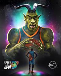 Space Jam 3 Poster Mock