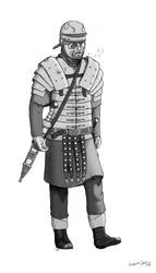 Legionary in Germania 9 BC