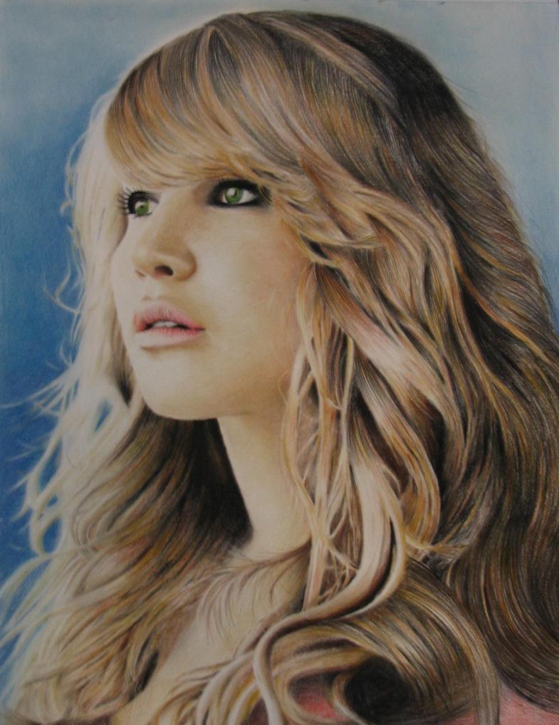 Jennifer Lawrence Portrait by prod44