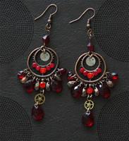 Timandra Griseata: SP earrings by brain-err0r