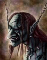 Portrait of a Troll by AranzazuFernandez