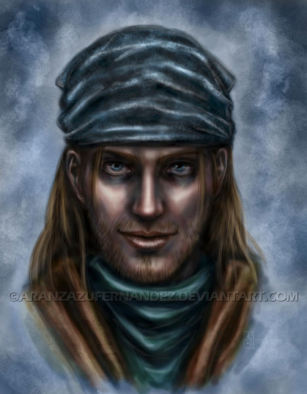 Portrait of a Guy by AranzazuFernandez