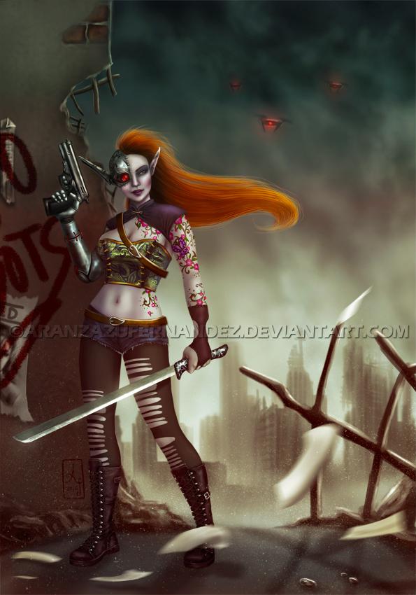 Seek And Destroy by AranzazuFernandez