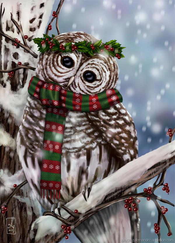 Snowy Owl by AranzazuFernandez